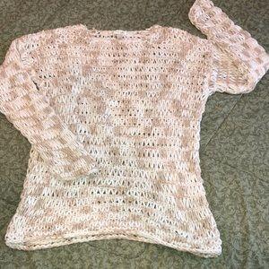 DRESS BARN XL peekaboo sweater